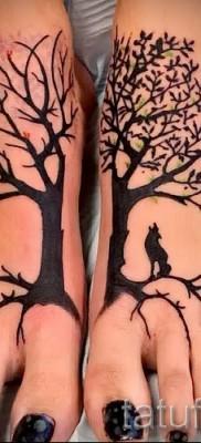 Фото тату дерево – рисункb для тату 09122015 № 149