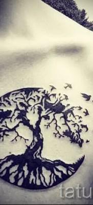 Фото тату дерево – рисункb для тату 09122015 № 150