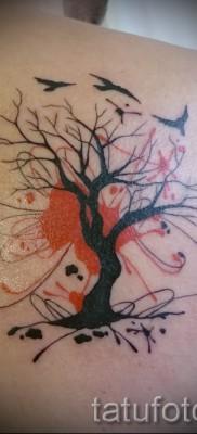 Фото тату дерево – рисункb для тату 09122015 № 151