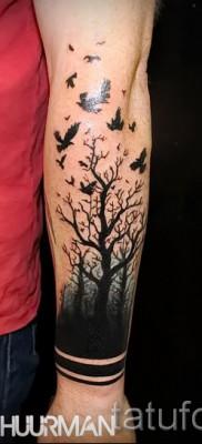 Фото тату дерево – рисункb для тату 09122015 № 154