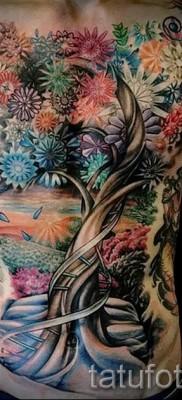 Фото тату дерево – рисункb для тату 09122015 № 156