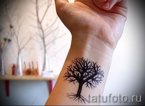 Фото тату дерево - рисункb для тату 09122015 № 169