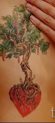 Фото тату дерево – рисункb для тату 09122015 № 170