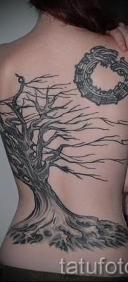 Фото тату дерево – рисункb для тату 09122015 № 171