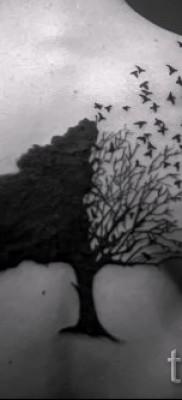 Фото тату дерево – рисункb для тату 09122015 № 175