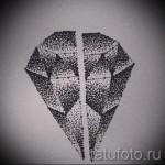 Эскизы тату алмаз - пример № 48