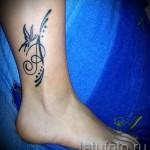 буква имени тату - фото готовой татуировки - 20122015 № 4