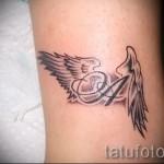 буква имени тату - фото готовой татуировки - 20122015 № 6