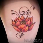 индийский цветок тату - фото классной татуировки от 21122015 № 5