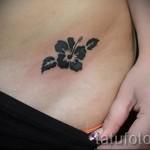 маленький цветок тату - фото вариант от 21122015 № 2
