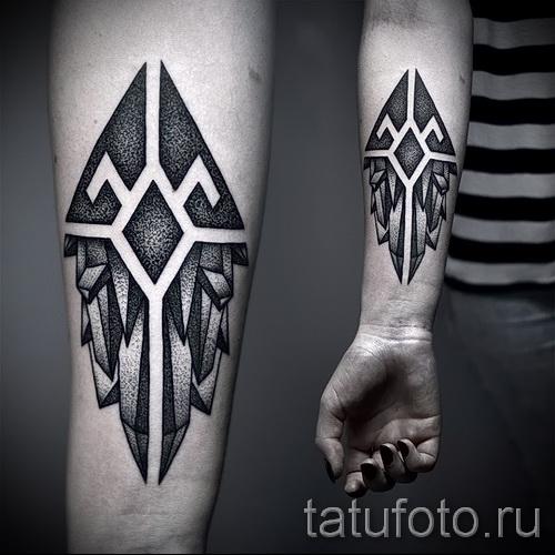 Тату абстракции: значение, 151 фото татуировки, эскизы