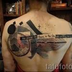 тату абстракции на спину - фото пример от 21122015 № 13
