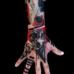 тату абстракция на руку - фото пример от 21122015 № 15