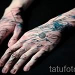 тату абстракция на руку - фото пример от 21122015 № 17