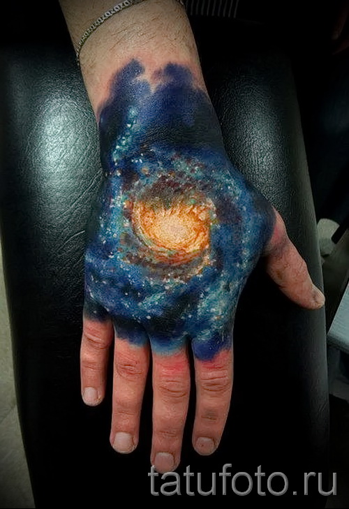 тату абстракция на руку - фото пример от 21122015 № 23