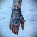 тату абстракция на руку - фото пример от 21122015 № 7