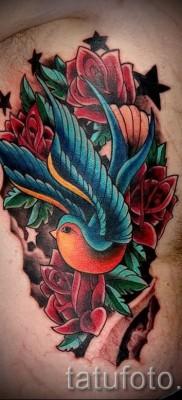 тату воробей – фото примеры татуировки от 07122015 10