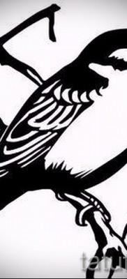 тату воробей – фото примеры татуировки от 07122015 12