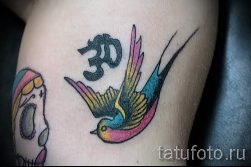 тату воробей - фото примеры татуировки от 07122015 18