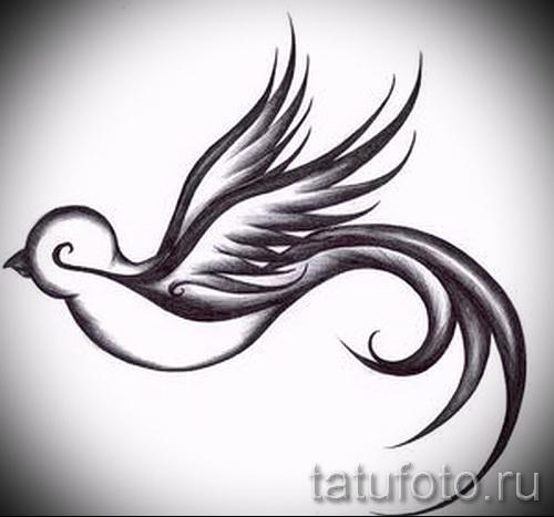 тату воробей - фото примеры татуировки от 07122015 4
