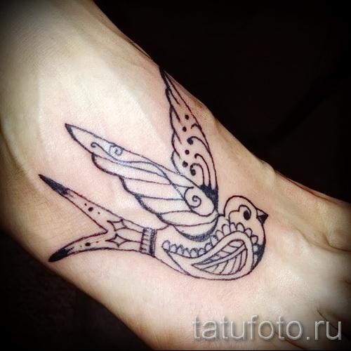 тату воробей - фото примеры татуировки от 07122015 8