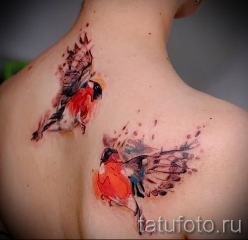 тату воробей - фото примеры татуировки от 07122015 9