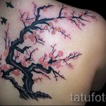 Great Cherry Blossom Tree Tattoo Designs
