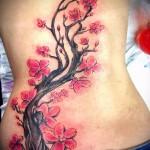 тату дерево сакуры - фото пример от 12122015 № 9