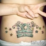 тату знак весы для девушки - фото пример от 13122015 № 2