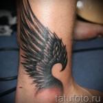 тату крылья на щиколотках фото 3