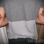 тату ласточка на руке - фото пример 3