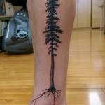 тату на ноге женские на щиколотке - пример фото 5