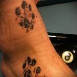 тату на щиколотке кошки фото 8