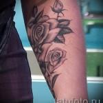 тату роза на запястье - фото вариант от 15122015 № 11