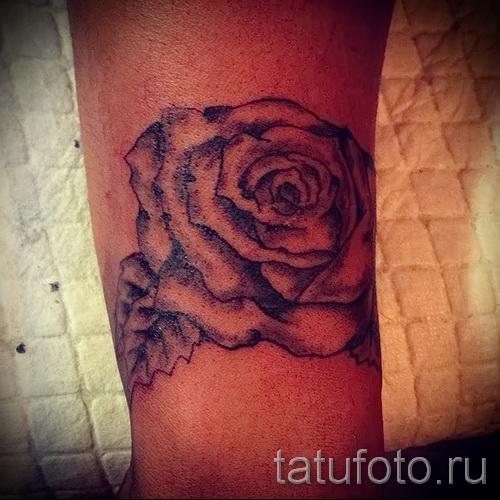 тату роза на запястье - фото вариант от 15122015 № 18