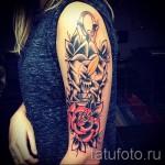 тату розы на руке - фото вариант от 15122015 № 19