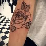 тату розы на руке - фото вариант от 15122015 № 4