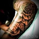 тату рукав розы - фото вариант от 15122015 № 5
