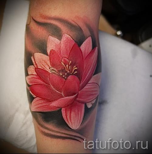тату цветок лотоса фото - фото вариант от 21122015 № 4