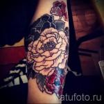 тату цветы на предплечье - фото вариант от 21122015 № 8