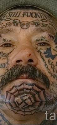 тюремные тату паутина – фото готовой татуировки – 20122015 № 2