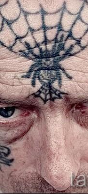 тюремные тату паутина – фото готовой татуировки – 20122015 № 9