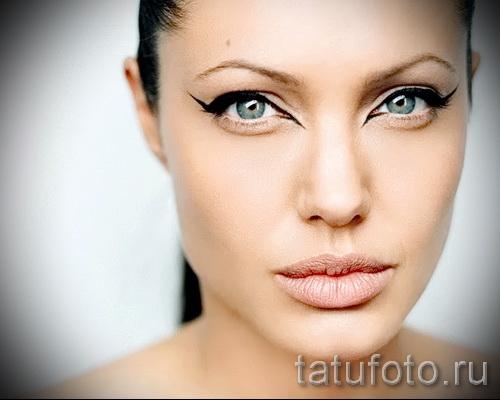 Тату Анджелины Джоли - пример на фото № 53