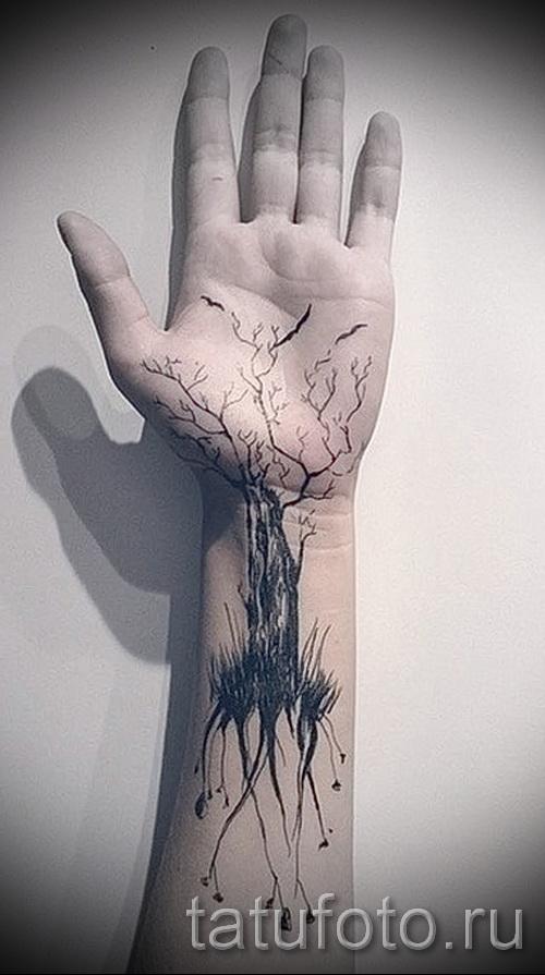 Фото тату дерево - рисункb для тату 09122015 № 022