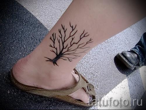 Фото тату дерево - рисункb для тату 09122015 № 037