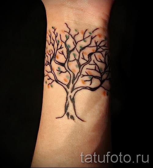 Фото тату дерево - рисункb для тату 09122015 № 068
