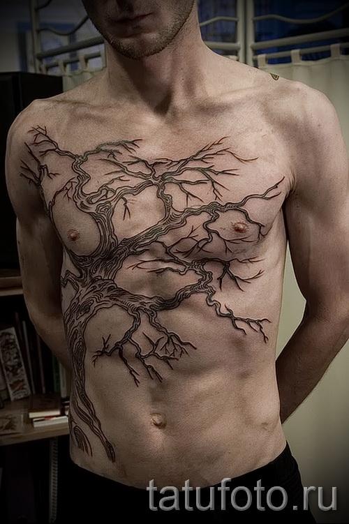 Фото тату дерево - рисункb для тату 09122015 № 074