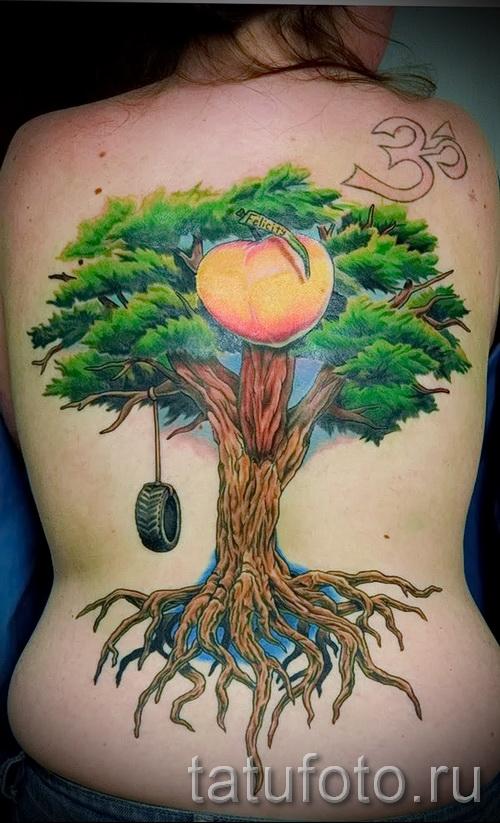 Фото тату дерево - рисункb для тату 09122015 № 093
