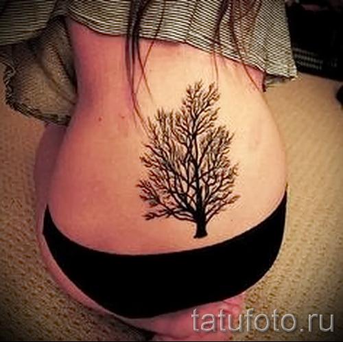 Фото тату дерево - рисункb для тату 09122015 № 107