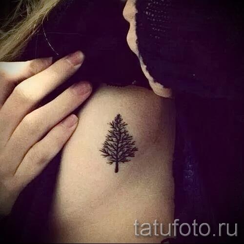 Фото тату дерево - рисункb для тату 09122015 № 109